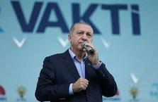 Cumhurbaşkanı Erdoğan Balıkesir'de konuştu