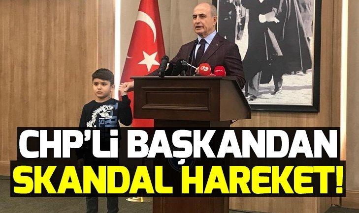 CHP'li Hasan Akgün'den tepki çeken hareket