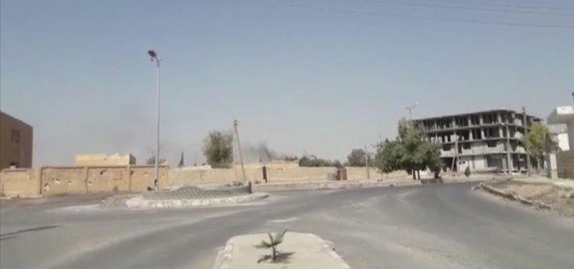 YPG/PKK YANGIN ÇIKARTARAK DEAŞ'LILARIN KAÇMASINI SAĞLADI