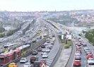 İstanbulda trafik çilesi