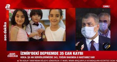 Son dakika: Sağlık Bakanı Fahrettin Koca'dan İzmir'de flaş açıklamalar