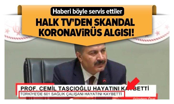 HALK TV'DEN SKANDAL KORONA PROVOKASYONU!