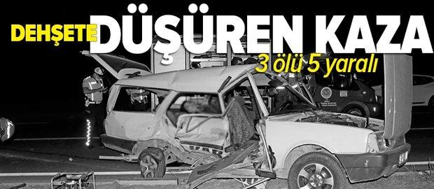 SON DAKİKA: Muğla'nın Fethiye ilçesinde korkunç kaza: 3 ölü 5 yaralı
