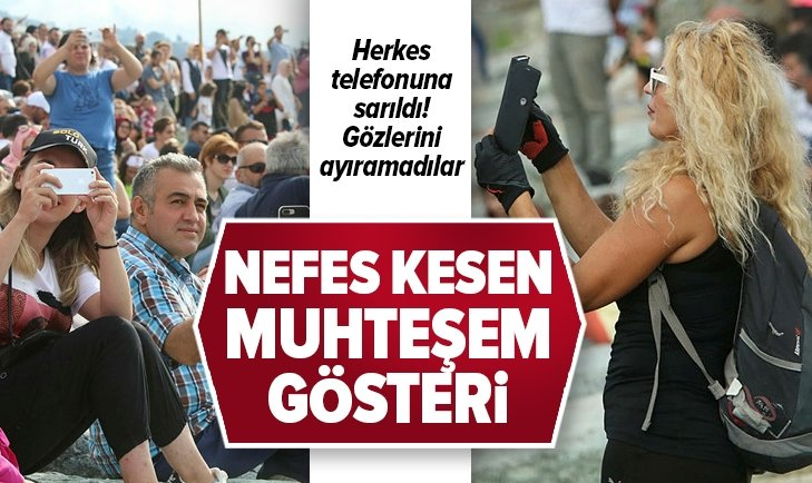 RİZE'DE MUHTEŞEM GÖSTERİ!