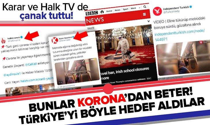 Türkiye'yi hedef aldılar! Karar Gazetesi ve Halk TV destek verdi