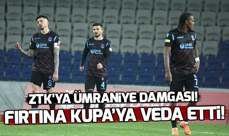 TRABZONSPOR ZTK'YA VEDA ETTİ!