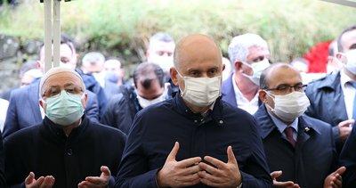 Son dakika: Ulaştırma ve Altyapı Bakanı Adil Karaismailoğlu'nun acı günü