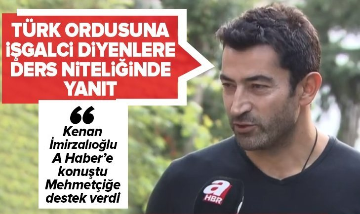 İMİRZALIOĞLU'NDAN 'BARIŞ PINARI' MESAJI: KAHRAMAN ORDUMUZ...