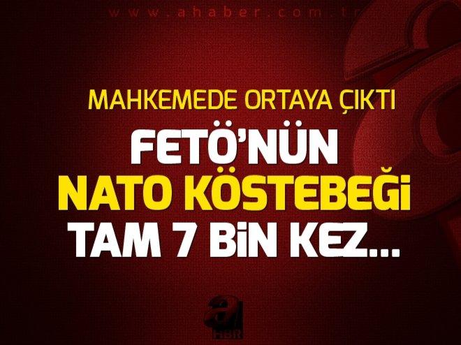 FETÖ'NÜN NATO KÖSTEBEĞİ 7 BİN DEFA BYLOCK'A BAĞLANMIŞ