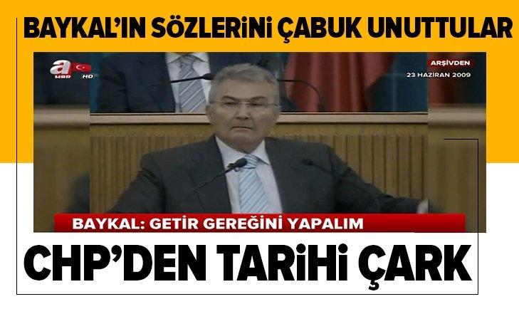 CHP'DEN TARİHİ ÇARK!