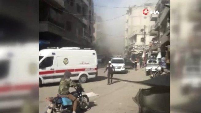 İdlib'te terör saldırısı! Ölü ve yaralılar var