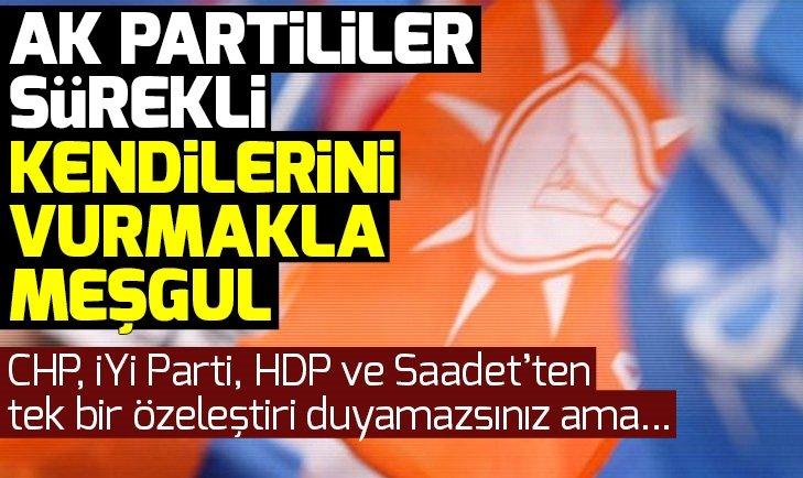 Hasan Basri Yalçın: AK Partililer sürekli kendilerini vurmakla meşgul