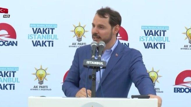 Enerji Bakanı Berat Albayrak: Dünyanın en büyük 6 projesi Türkiye'de