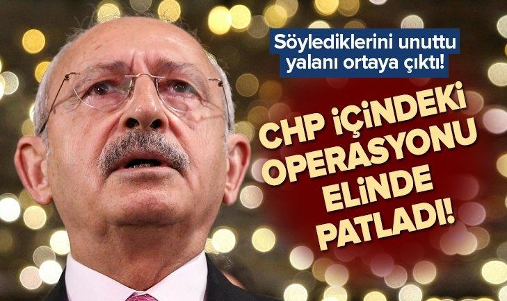 KILIÇDAROĞLU'NUN CHP İÇİNDEKİ OPERASYONU ELİNDE PATLADI!