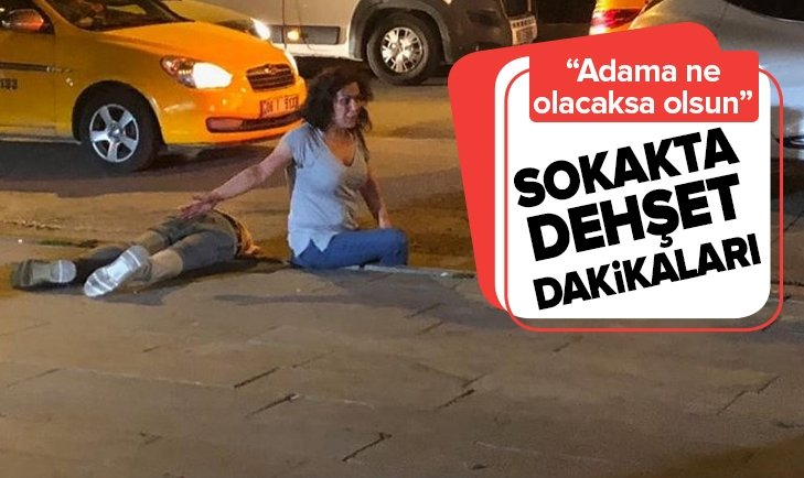SOKAKTA DEHŞET DAKİKALARI!
