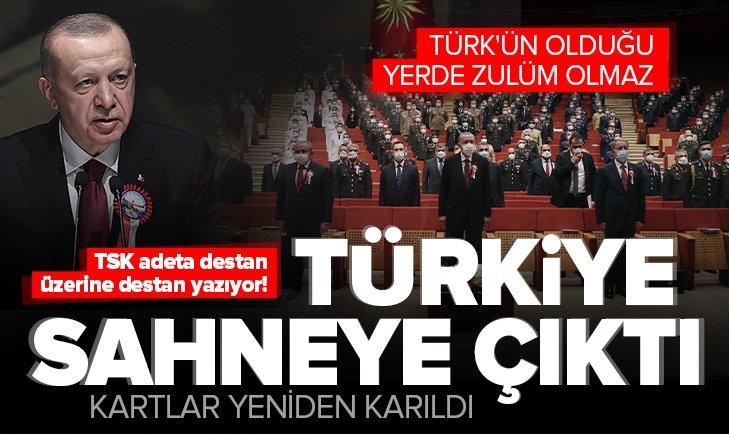 Son dakika: Başkan Erdoğan'dan Kurmay Eğitimi Mezuniyet Töreni'nde önemli açıklamalar