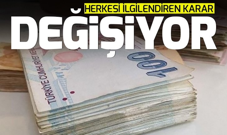 MERKEZ BANKASI'NDAN 'PARA YENİLEME' KARARI