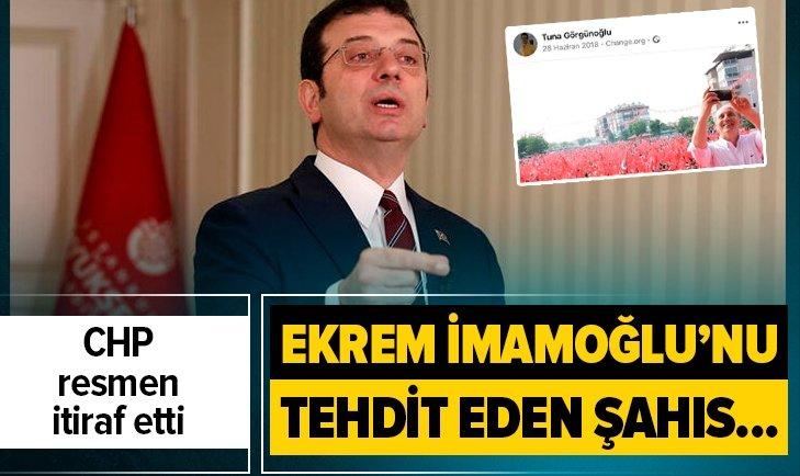 CHP'DEN 'TEHDİT' AÇIKLAMASI