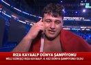 Son dakika: Başkan Erdoğan'dan dünya şampiyonu olan Rıza Kayaalp'e tebrik telefonu |Video