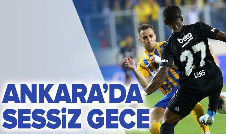 ANKARA'DA SESSİZ GECE!