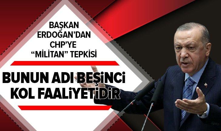 AK Parti İl Kongreleri! Başkan Erdoğan CHP'ye sert çıktı