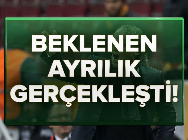 GALATASARAY'DA RİEKERİNK'İN GÖREVİNE SON VERİLDİ