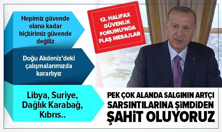 Başkan Erdoğan'dan kritik mesajlar