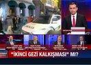 Kadıköy'de polis aracını taşladılar! Skandal görüntülere A Haber canlı yayınında sert tepki