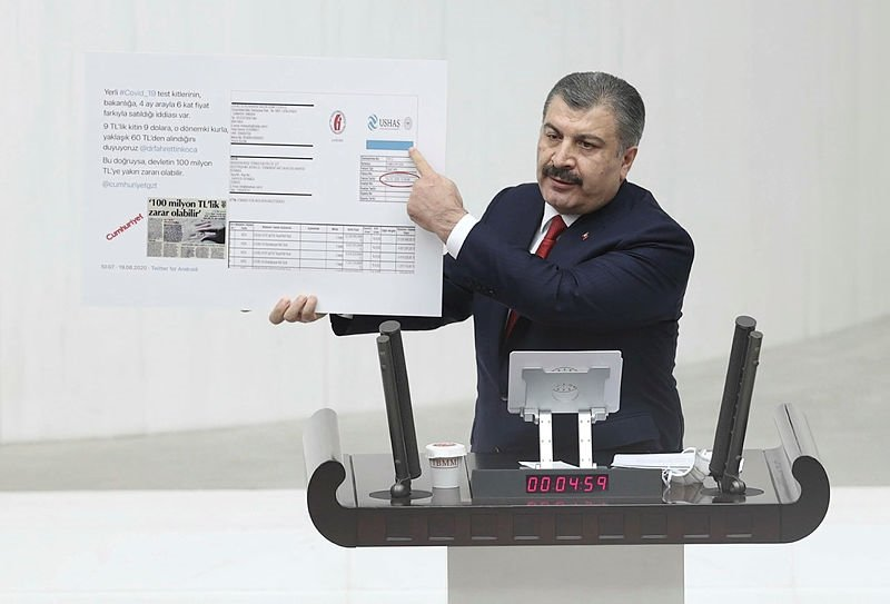Sağlık Bakanı Fahrettin Koca TBMM'de 8 il için müjdeli haberi verdi! Koronavirüs...