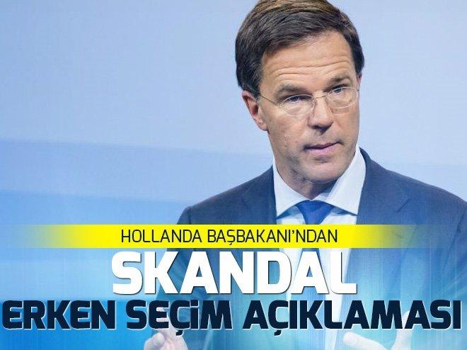 Hollanda'dan kriz yaratacak Türkiye açıklaması
