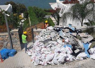 Yılmaz Özdil'in kaçak villasında yıkımın 3. günü! 25 metrekaresi yıkıldı