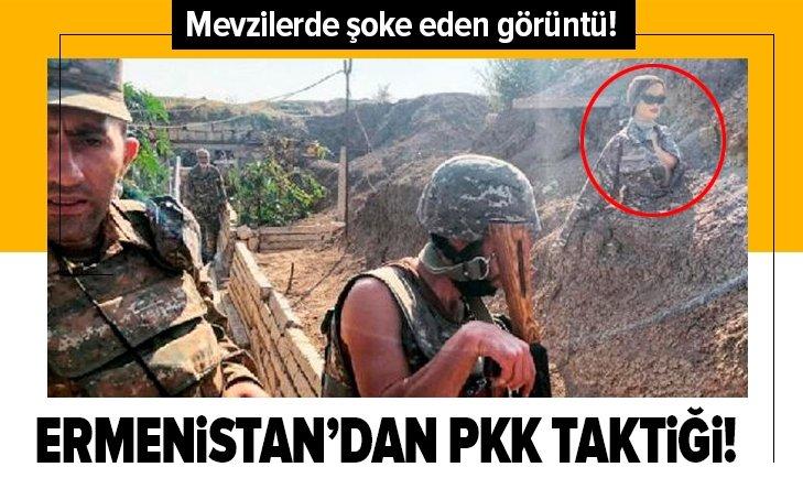 Ermenistan'dan PKK taktiği!
