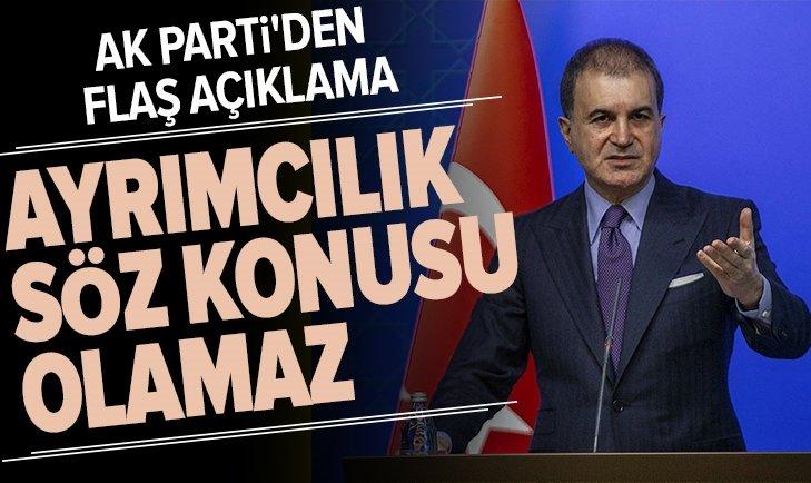 AK Parti'den flaş şehit cenazesi açıklaması