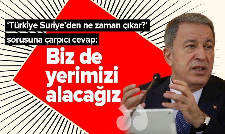 MİLLİ SAVUNMA BAKANI HULUSİ AKAR'DAN FLAŞ İDLİB AÇIKLAMASI!