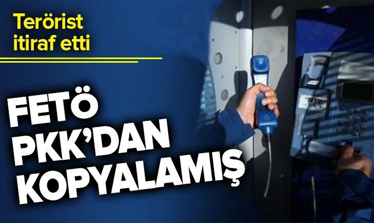 Teröristlerden itiraf: FETÖ ankesörlü telefon yöntemini PKK'dan kopyalamış