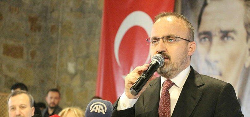 AK PARTİ'DEN HDP VE CHP'YE İTTİFAK GÖNDERMESİ