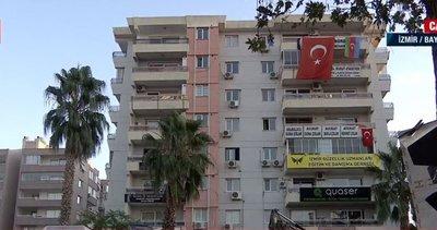 İzmir'de korku dolu anlar: Rıza Bey Apartmanı'nın yanındaki bina sallandı, ekipler uzaklaştırıldı