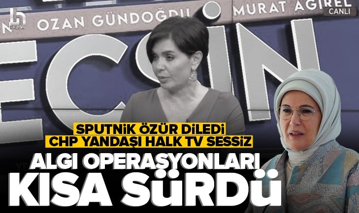 Sputnik özür diledi, Halk TV hala sessiz