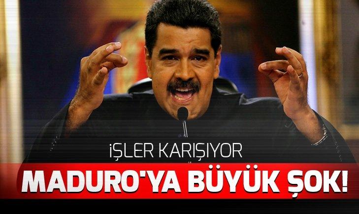 ABD'den Maduro'ya yaptırım kararı ve Kolombiya'dan Maduro'ya karşı darbe çağrısı!