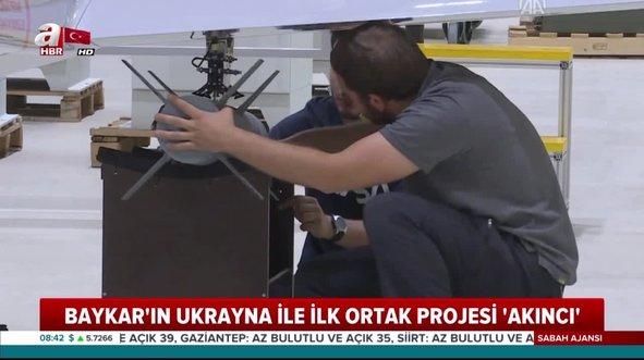 BAYKAR'ın Ukrayna ile ilk ortak projesi 'Akıncı'