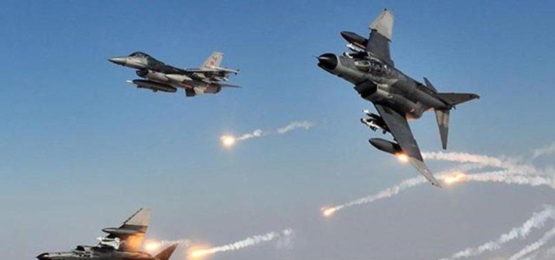 TERÖRİSTLERE AĞIR DARBE! İHA'LAR BULDU F-16'LAR VURDU...