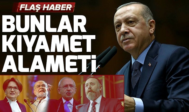 Başkan Erdoğan'dan CHP-HDP ittifakına sert sözler