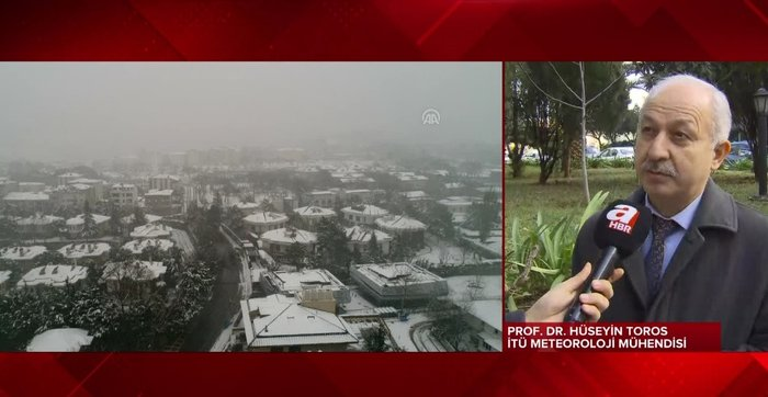 İstanbul'a beklenen kar neden yağmadı?