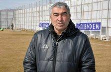 Samet Aybaba: Ligde sıralama olarak yukarılarda kalmak istiyoruz