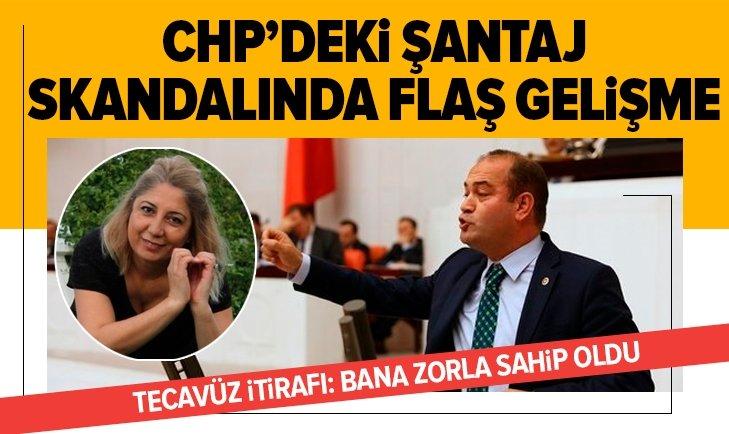 CHP'deki şantaj skandalında ikinci perde! Tecavüz itirafı