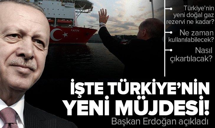 Son dakika: Başkan Recep Tayyip Erdoğan müjdeyi açıkladı! Türkiye'nin keşfettiği doğal gaz ne zaman kullanılabilecek? Türkiye'nin kaç metreküp doğal gazı var?