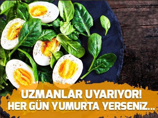 Uzmanlar açıkladı! Her gün yumurta yerseniz...