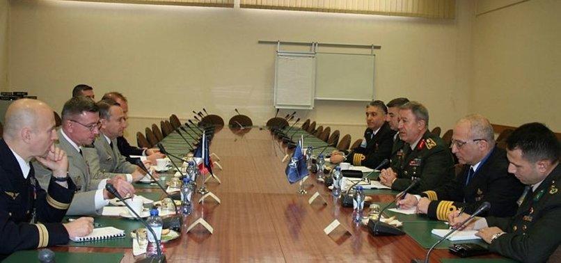GENELKURMAY BAŞKANI AKAR'DAN NATO'YA 'DESTEK' ÇAĞRISI