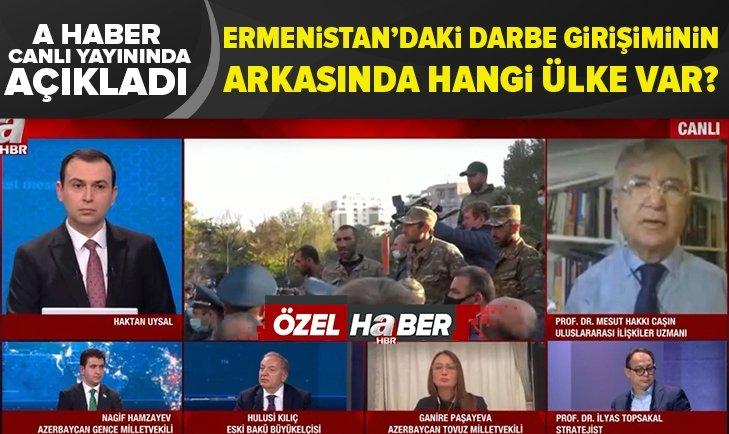 Ermenistan'daki darbe girişiminin arkasında hangi ülke var?