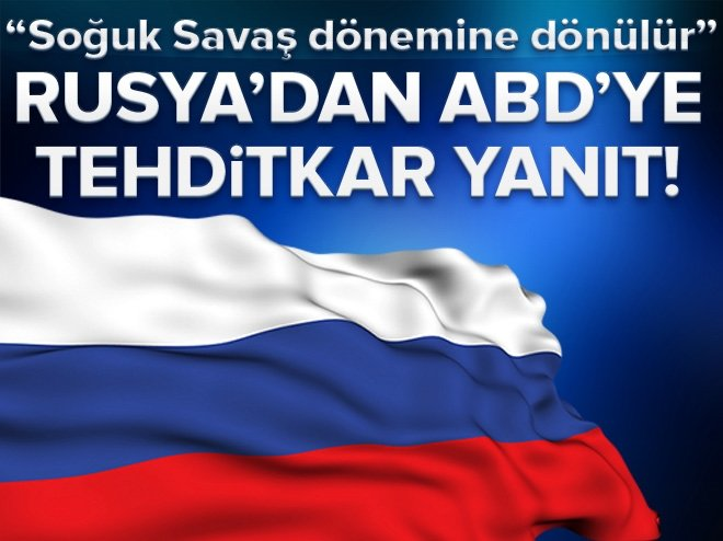 RUSYA'DAN TRUMP'A SERT 'NÜKLEER' YANITI!